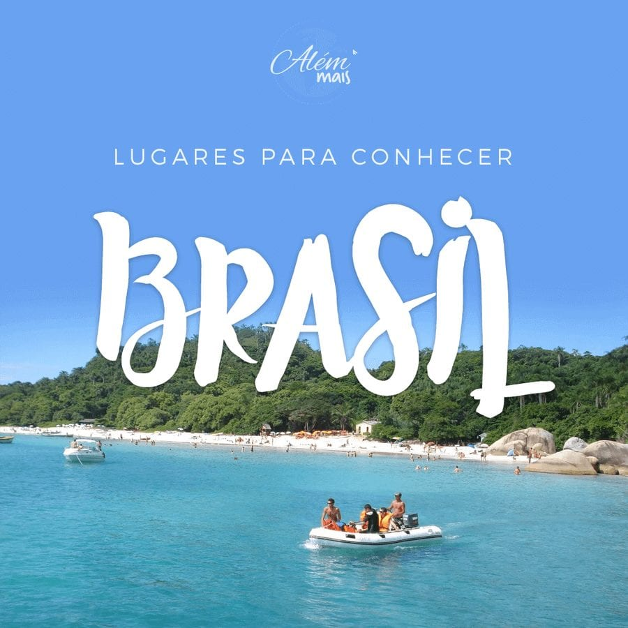 Lista de lugares para conhecer no Brasil