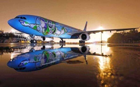 avião temático do Toy Story